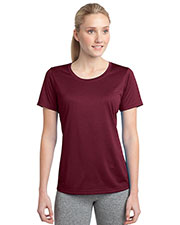 Sport-Tek® LST360 Women Heather Contender   Scoop Neck Tee at GotApparel
