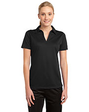 Sport-Tek® LST690 Women PosiCharge® Active Textured Polo at GotApparel