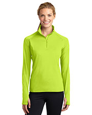 Sport-Tek® LST850 Women Sportwick Stretch 1/4-Zip Pullover at GotApparel