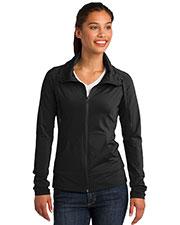 Sport-Tek® LST852 Women Sportwick Stretch Full-Zip Jacket at GotApparel