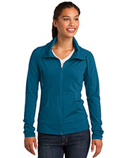 Sport-Tek® LST852 Women Sportwick Stretch Full-Zip Jacket at GotApparel