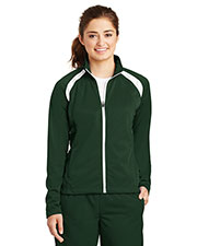 Sport-Tek® LST90 Women Tricot Track Jacket at GotApparel