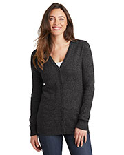Port Authority LSW415 Women Marled Cardigan Sweater at GotApparel