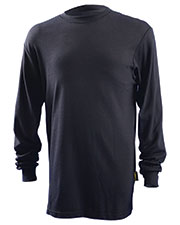 OccuNomix LUXLSTF Men Classic Flame Resistant Long Sleeve HRC 2 T-Shirt at GotApparel