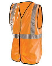 OccuNomix LUXSSG Men High Visibility Premium Flame Resistant Solid Vest at GotApparel