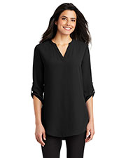 Port Authority LW701 Ladies 4.1 oz 3/4-Sleeve Tunic Blouse at GotApparel