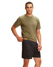 Soffe M059 Men Adult Mini Mesh Short Nylon 5 at GotApparel