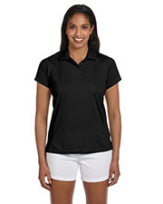 Harriton M315W Women 4 Oz. Polytech Polo at GotApparel