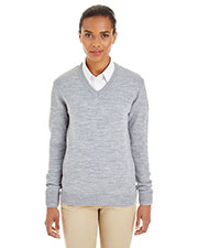 Harriton M420W Women Pilbloc  V-Neck Sweater at GotApparel