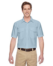 Harriton M580 Men Key West Short-Sleeve Performance Staff Shirt at GotApparel