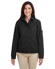 Harriton M705W Women Auxiliary Canvas Work Jacket at GotApparel