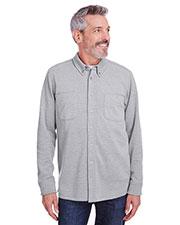 Harriton M708 Men StainBloc Pique Fleece Shirt-Jacket at GotApparel