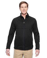 Harriton M745 Men Task Performance Fleece Full-Zip Jacket at GotApparel