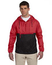 Harriton M750 Men Packable Nylon Jacket at GotApparel