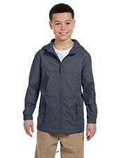 Harriton M765Y Boys Essential Rainwear at GotApparel