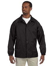 Harriton M775 Men Nylon Staff Jacket at GotApparel