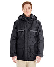Harriton M779 Men Axle Insulated Cargo Jacket at GotApparel