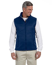 Harriton M795 Men Essential Polyfill Vest at GotApparel