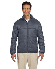 Harriton M797 Men Essential Polyfill Jacket at GotApparel