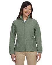 Harriton M990W Women 8 Oz. Full-Zip Fleece at GotApparel