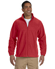 Harriton M990 Men 8 Oz. Full-Zip Fleece at GotApparel