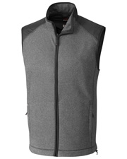 Cutter & Buck MCO09842 Men Cedar Park Full-Zip Vest at GotApparel