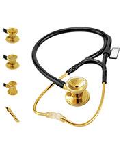 MDF MDF797DD MDF ER Premier Stethoscope Gold Edition at GotApparel
