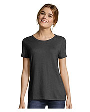 Hanes MO150 Women Modal Triblend Scoop T-Shirt at GotApparel