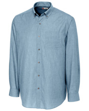 Clique New Wave MQW00010 Men Halden Stain-Resistant Long-Sleeve at GotApparel