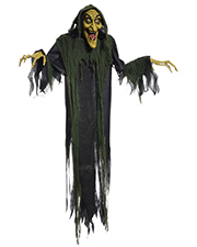 Halloween Costumes MR123111 Unisex   Hanging Witch 72 Inches Animated at GotApparel