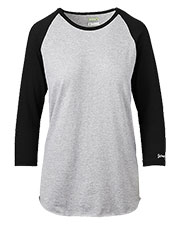 Soffe Intensity N210W Women Fastpitched Heathered Tee at GotApparel