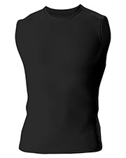A4 N2306 Men Compression Muscle Shirt at GotApparel