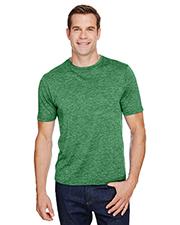 A4 N3010 Men 4.3 oz Tonal Space-Dye T-Shirt at GotApparel