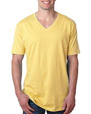 Next Level N3200 Men Premium Fitted Short-Sleeve V-Neck Tee at GotApparel