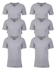Bella + Canvas 3200 Unisex 3/4-Sleeve Baseball T-Shirt 6-Pack at GotApparel