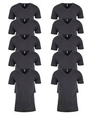 Next Level N3200 Men Premium Fitted Short-Sleeve V-Neck Tee 10-Pack at GotApparel