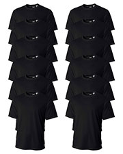 A4 N3252 Men Textured Tech Tee 12-Pack at GotApparel