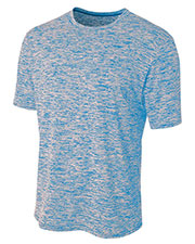 A4 N3296 Men Space Dye T-Shirt at GotApparel