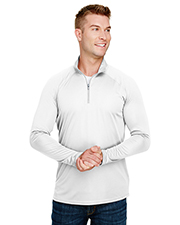 A4 N4268 Adult 4 oz. Daily Polyester 1/4 Zip at GotApparel
