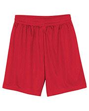 "A4 Drop Ship N5184 Men 7"" Inseam Lined Micro Mesh Shorts at GotApparel"