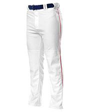 A4 Drop Ship N6162 Men Pro Style Open Bottom Baggy Cut Baseball Pants at GotApparel