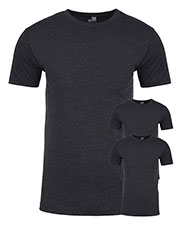 Next Level N6210 Men Premium Fitted Cvc Crew Tee 3-Pack at GotApparel