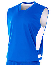 A4 NB2349 Boys Reversible Speedway Muscle Tee at GotApparel