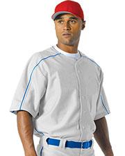 A4 NB4214 Boys Warp Knit Baseball Jersey at GotApparel