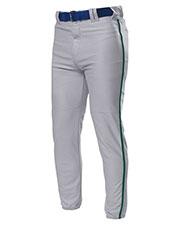 A4 NB6178 Boys Pro Style Elastic Bottom Baseball Pant at GotApparel