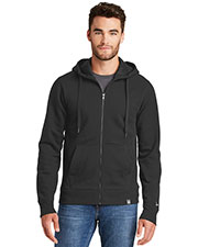 Custom Embroidered New Era NEA502 Men 9 oz French Terry Full-Zip Hoodie at GotApparel