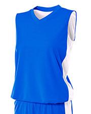 A4 Drop Ship NW2320 Women Reversible Moisture Management Muscle Shirt at GotApparel