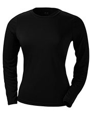 A4 NW3002 Women Long-Sleeve Cooling Performance Crew Shirt at GotApparel