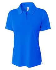 A4 NW3261 Women Circular Knit Performance Polo at GotApparel