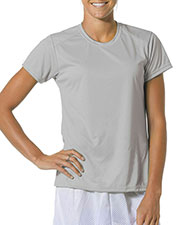 A4 NW3264 Women Poly Short-Sleeve Tee at GotApparel